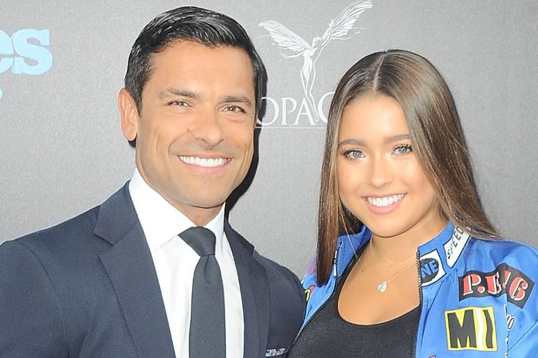 Mark Consuelos and daughter Lola Consuelos