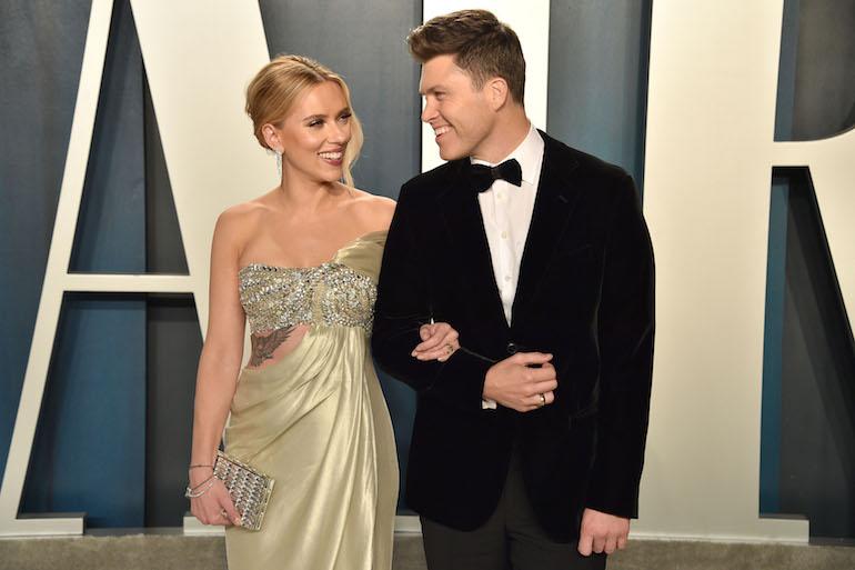 Scarlett Johansson And Colin Jost Love Disney