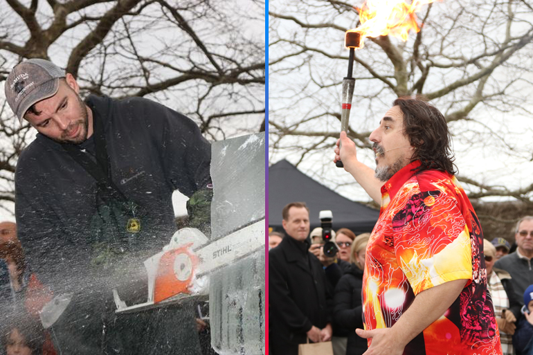 Elemental extremes fire and ice reign supreme at the annual HarborFrost