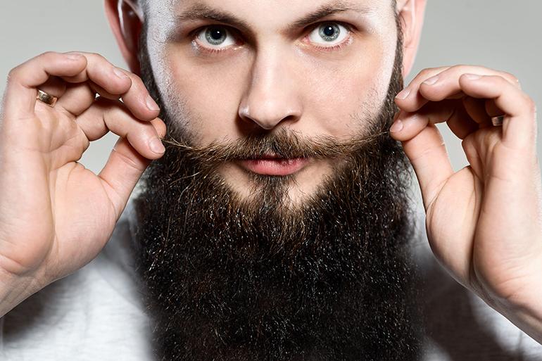 Hamptons Police officer and bearder Oskar Mutter