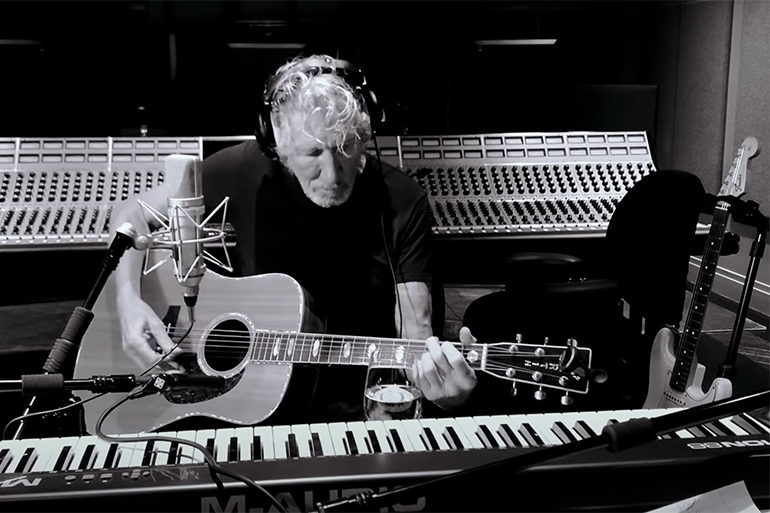 """Roger Waters performs """"Mother"""" from home"""