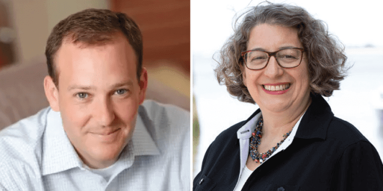 Representative Lee Zeldin is looking for a fourth term in Congress, while Nancy Goroff makes a first-time run for the position.