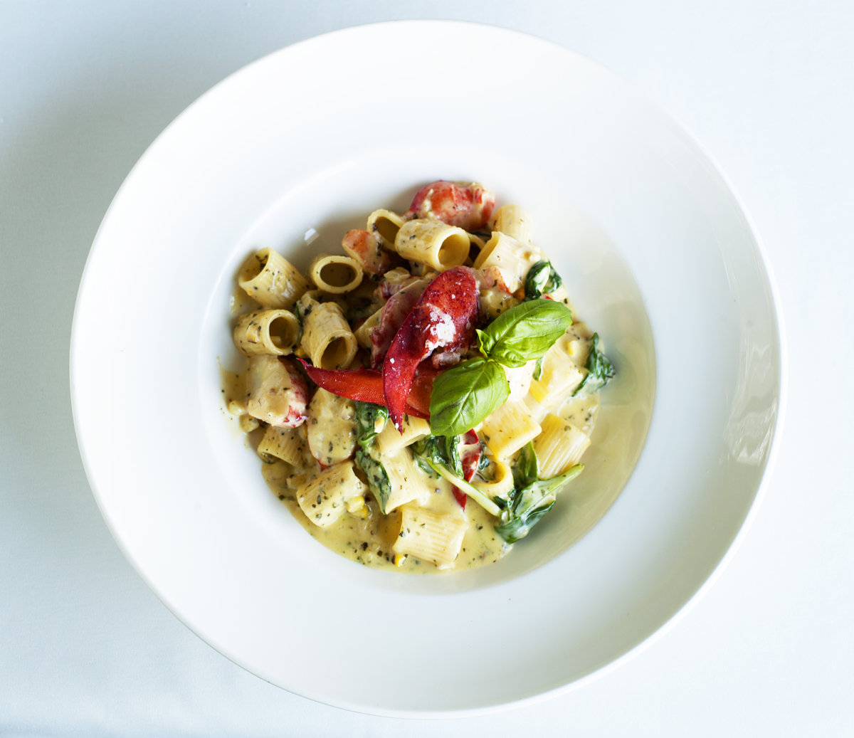Lobster Garganelli at The Bell & Anchor