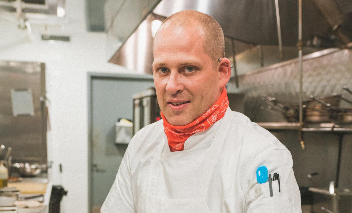 Preston House & Hotel Executive Chef Drew Hiatt
