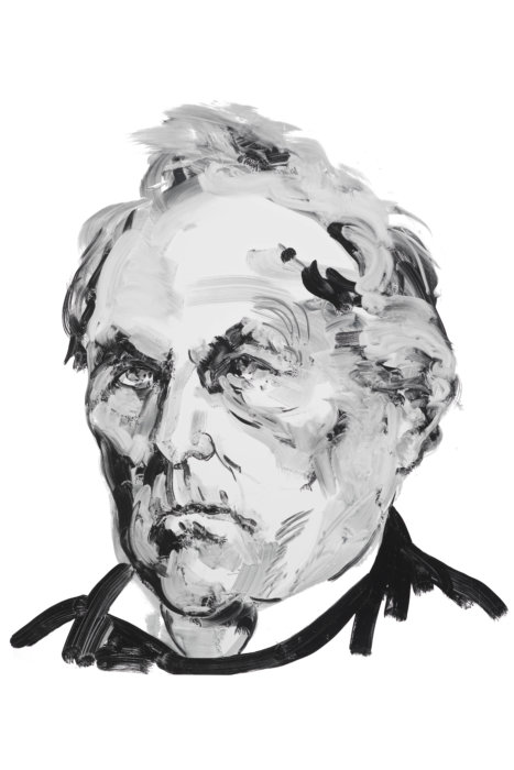 James Fenimore Cooper, as depicted by Eric Fischl