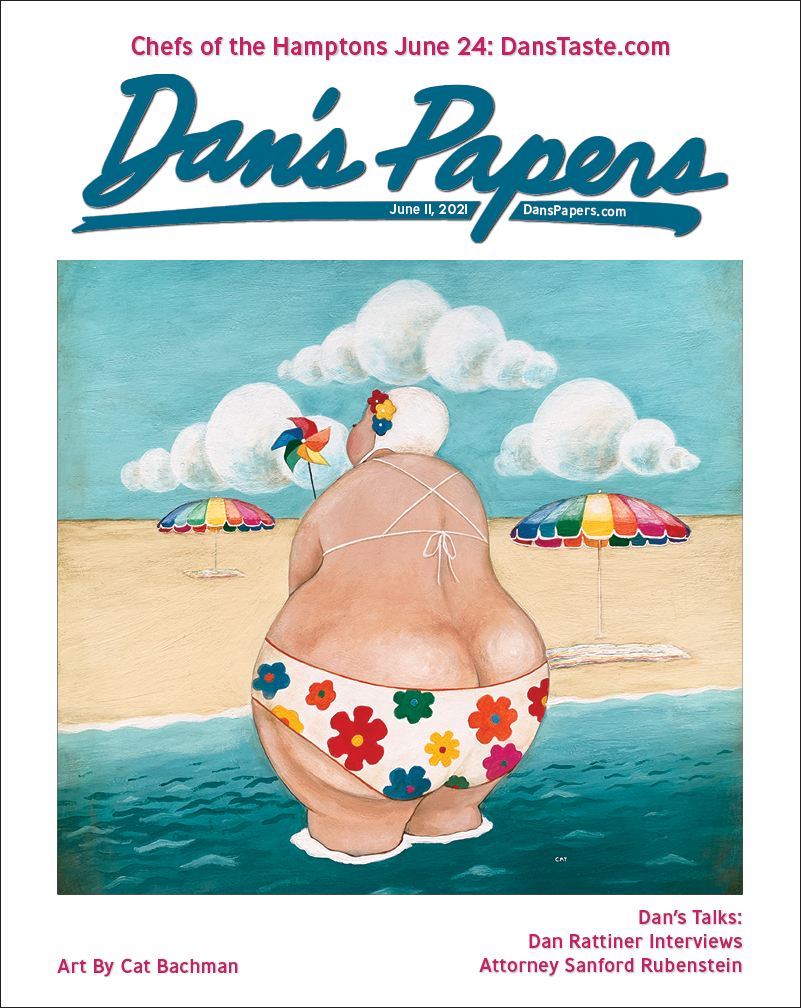 Cat Bachman's art on the cover of the June 11, 2021 Dan's Papers issue