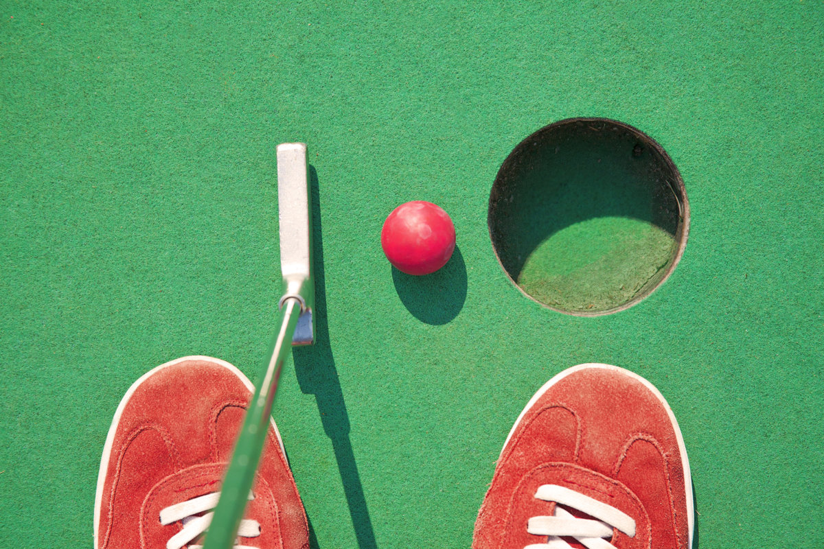 East End mini-golf is fun for the whole family