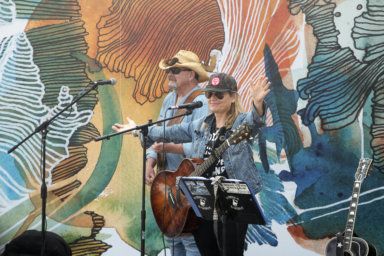 Nancy Atlas and Johnny Blood play The Surf Lodge