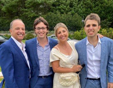 The Kessaris Family: Dr. Dimitri, Alexander, Dr. Lisa and Michael of Luv Michael